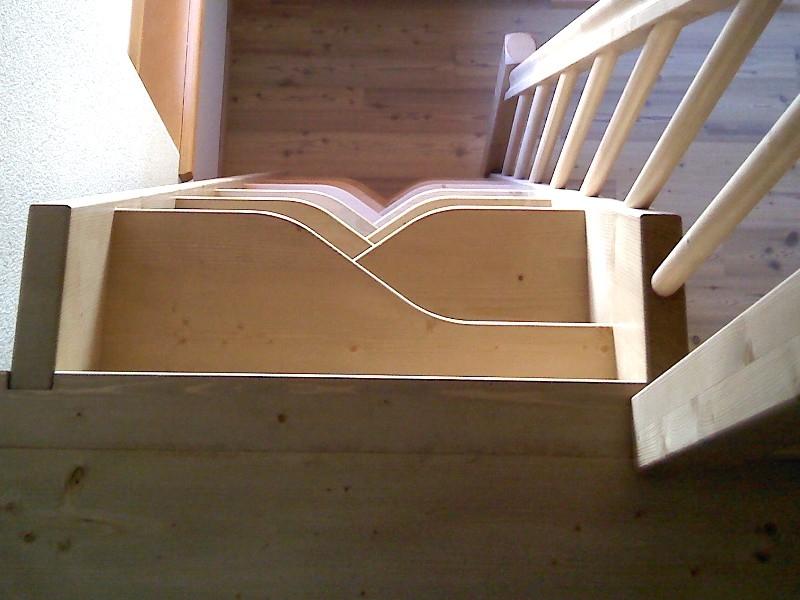 Scale interne legno elegant parapetto in legno modello di artistic stairs with scale in - Scale interne in legno costi ...
