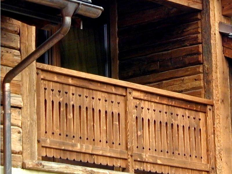 Célèbre Balconi in legno: realizziamo soluzioni personalizzate KA52