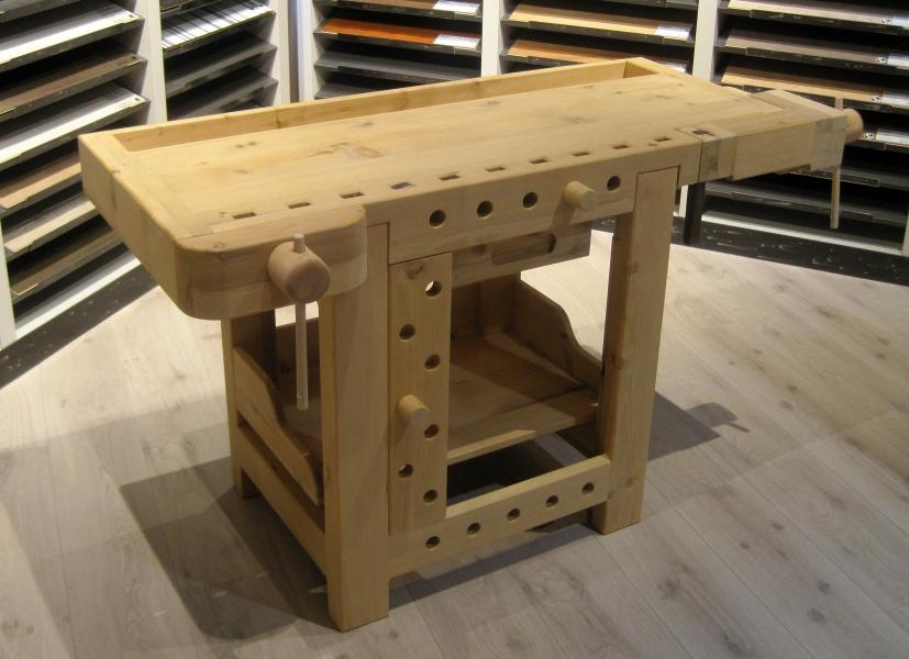 Banco Di Lavoro Falegname : Il legno bormio: progettazione e posa in opera