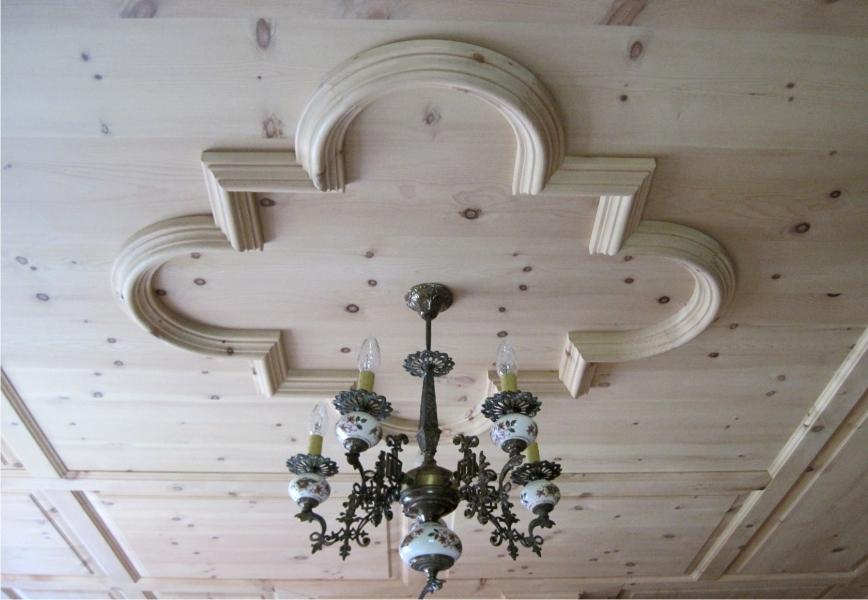 Perline disegno soffitto : ... nei dettagli, progettazione a disegno, lavorazione artigianale