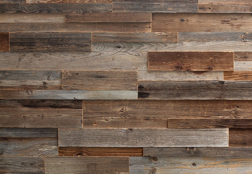 Rivestimento in legno da parete con superficie irregolare - Parete interna in legno ...