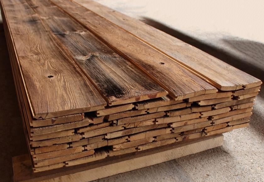 Legno antico di recupero - Tavole di legno per edilizia ...